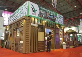 GRM booth in JAKARTA